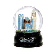 65mm Charlotte, North Carolina Snow Globe