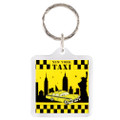 NYC Taxi Key Chain