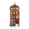 NYC Brownstone Ornament - Glass