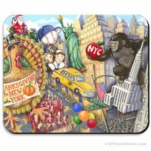 Thanksgiving Day Parade Mousepad