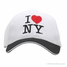 I Love NY Cap - Black Bill