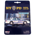 nypd car toy die cast