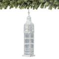 Silver Big Ben Christmas Ornaments