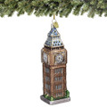Glass Big Ben Ornaments