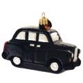 British Taxi Christmas Ornament
