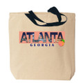 Atlanta Photo Canvas Tote Bag