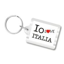 I Love Italy Key Chains, I Heart Italia