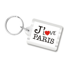I Love Paris Key Chains, I Heart Paris