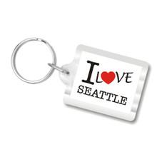 I Love Seattle Keychains (I heart Seattle)