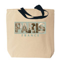 Paris Photo Canvas Tote Bag