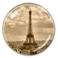 Eiffel Tower French Crystal Paperweight