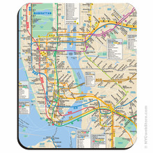 New York City Subway Mouse Pad