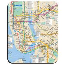 MTA New York City Subway Mouse Pad