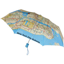 New York City Subway Map Umbrella