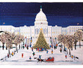 Christmas at the US Capitol Art