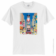 Times Square Art Scene Apparel Youth