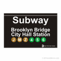 Brooklyn Bridge Subway Magnet