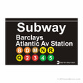Barclays Atlantic Ave Brooklyn Subway Magnet