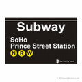 SoHo Station Subway Magnet
