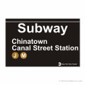 Chinatown Subway Magnet