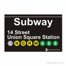 Union Square Station Subway Magnet