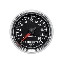 Auto Meter GS Series Pyrometer Gauge