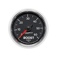 Auto Meter GS Series Boost Gauge