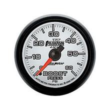 Auto Meter Phantom II Series Boost Gauge