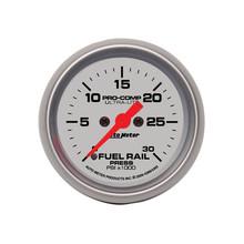 Auto Meter Ultra-Lite Fuel Rail Pressure Gauge