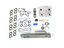 Basic Solution for Ford 2003 6.0L Powerstroke With Sinister Replacment Round EGR Cooler