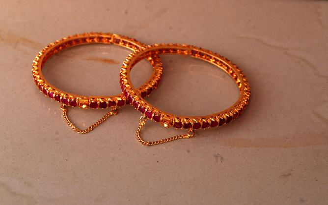 Artificial Fashion Jewelry Bangles Frozen