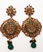 Ladies Gold Plated Earings  Richmond