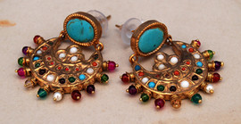 Ladies Gold Plated Earings Canada