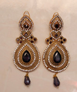 Ladies Gold Plated Earings Vancouver