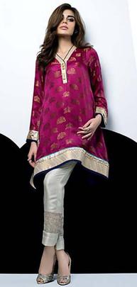 Designer Sania Maskatiya Dresses Orange  01
