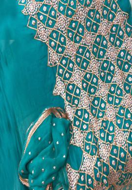 Badla Mukaish Gota Embroidery Barkely 1