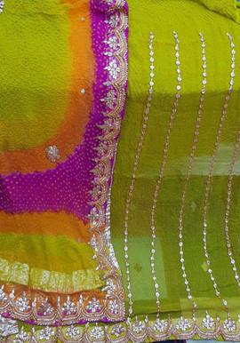 Badla Mukaish Gota Embroidery Bradford 1