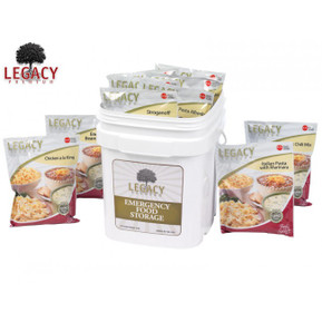 dehydrated food storage for disaster preparedness