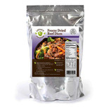 100% USDA Freeze Dried Beef Dices