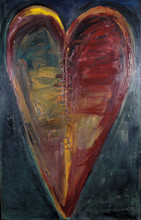 Healing Heart, Heart Painting