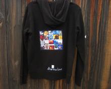 Love, Peace, & Happiness Women's Dharma Bum Organic Cotton/Recycled Polyester Sweatshirt/Hoodie