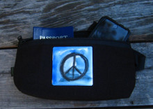 Peace Sign Hemp Hip Pack