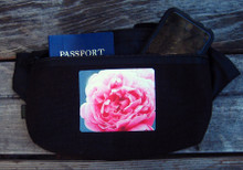 Pink Rose Hemp Hip Pack