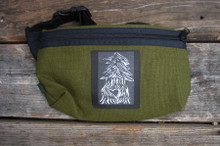 Pine Tree with Heart Hemp Hip Pack