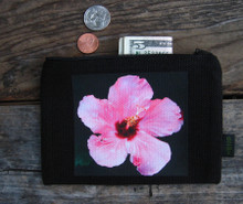 Hibiscus Medium & Large Hemp Coin Purse