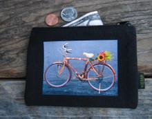 Bamboo Bike Hemp Medium & Large Coin Purse