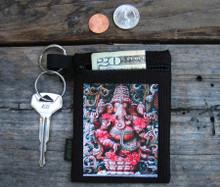 Ganesh (Hindu God) Hemp Key Coin purse