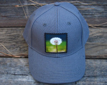 Make a wish (dandelion) Hemp Baseball Hat