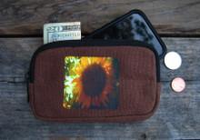 Sunflower Hemp IPhone/Wallet Case