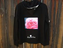 Pink Rose Women's Dharma Bum Organic Cotton/Recycled Polyester Sweatshirt/Hoodie